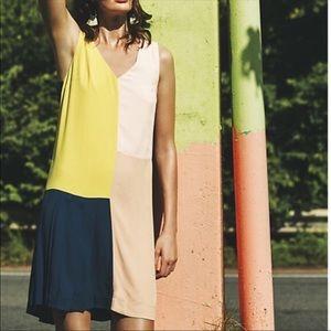 Anthropologie HD in Paris Colorblock Shift Dress